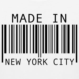 White Made in New York City T-Shirts - Men's Premium Tank