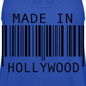 Turquoise Made in Hollywood Kids' Shirts - Women's Flowy Tank Top by Bella