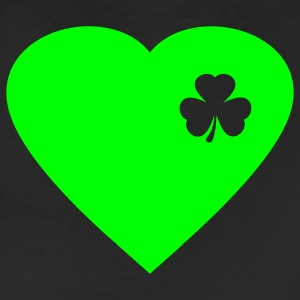 Kelly green irish heart T-Shirts - Leggings