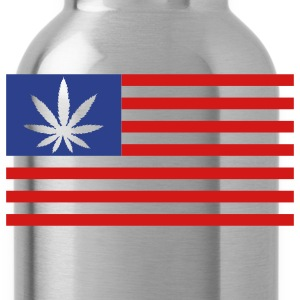 Weed Flag - Water Bottle