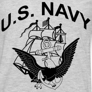U.S. NAVY - Men's Premium Long Sleeve T-Shirt