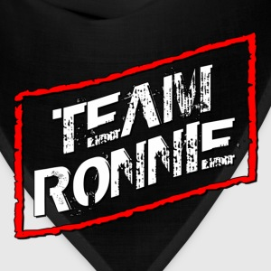 Black Team Ronnie Jersey Shore T-Shirts - Bandana