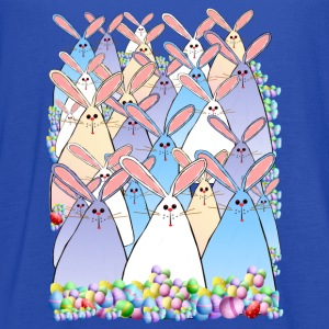 Happy Easter Bunnies - Women's Flowy Tank Top by Bella