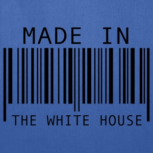Turquoise Made in The White House Kids' Shirts - Tote Bag