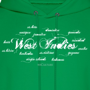 West Indies + Islands - Men's Hoodie