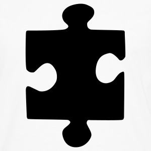 Puzzle Piece - Men's Premium Long Sleeve T-Shirt