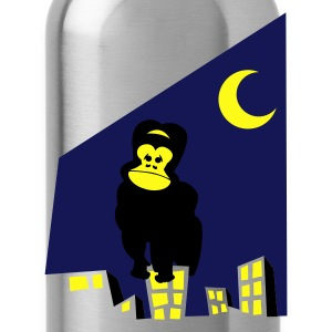Heather grey king kong wants to go home on a city scape T-Shirts - Water Bottle