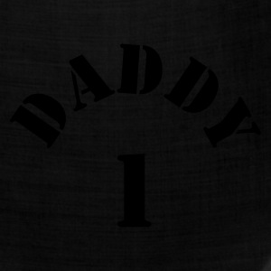 Gold DADDY ONE 1 NEW DAD T-Shirts - Bandana