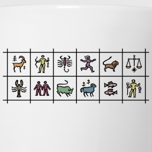 Zodiac signs T-shirt - Coffee/Tea Mug