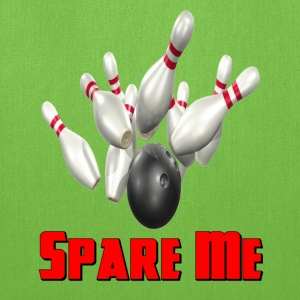 Kelly green Bowling Team Spare Me T-Shirts - Tote Bag