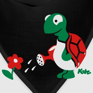 Forest green Turtle (c) T-Shirts - Bandana