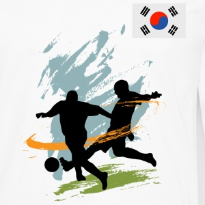 South Korea Supporter - Men's Premium Long Sleeve T-Shirt