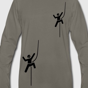 climbing T-Shirts - Men's Premium Long Sleeve T-Shirt