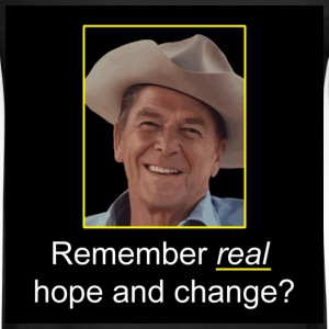 Black Reagan - Remember Real Hope & Change T-Shirts - Men's Long Sleeve T-Shirt