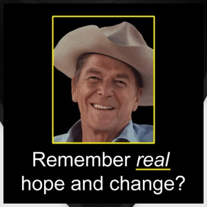 Black Reagan - Remember Real Hope & Change T-Shirts - Bandana