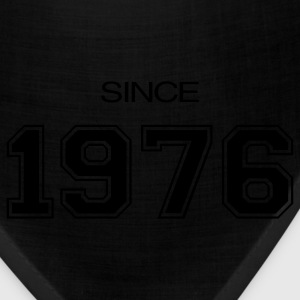 Black birthday gift 1976 T-Shirts - Bandana