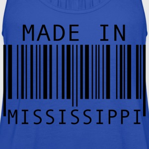 Turquoise Made in Mississippi Kids' Shirts - Women's Flowy Tank Top by Bella