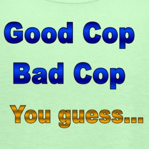 Sage Good cop / Bad cop T-Shirts - Women's Flowy Tank Top by Bella