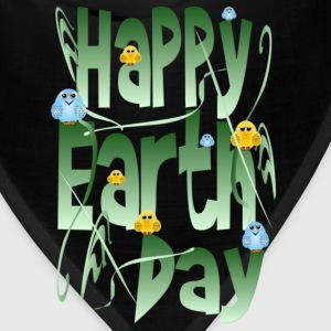 Happy Earth Day and Birds - Bandana