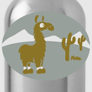 Sage Lama Scenery Atacama T-Shirts - Water Bottle