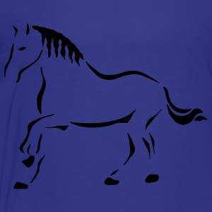 Turquoise Horse Art Kids' Shirts - Toddler Premium T-Shirt