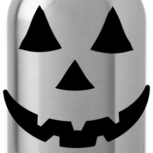 Orange jacko lantern T-Shirts - Water Bottle