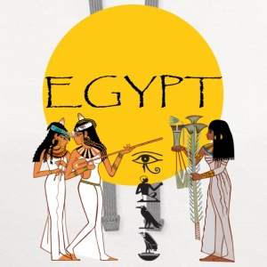White egypt T-Shirts - Contrast Hoodie