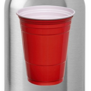 Beer Pong Red Plastic Cup T-Shirt - Water Bottle