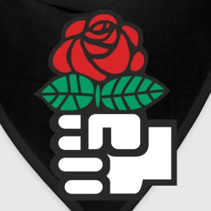 Socialist Red Rose - Bandana