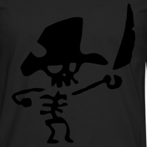 Pirate Skeleton - Men's Premium Long Sleeve T-Shirt