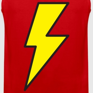 Red Lightning Bolt T Shirts