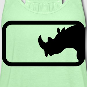 RHINO IN BOX T-Shirts - Women's Flowy Tank Top by Bella