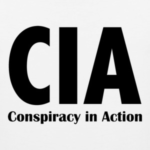 CIA - Conspiracy in Action - Men's Premium Tank