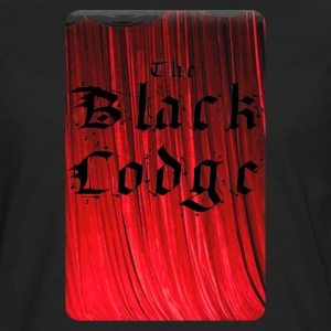The Black Lodge - Men's Premium Long Sleeve T-Shirt
