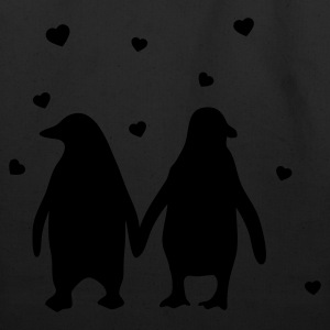 Penguins in love - love each other penguins T-Shirts - Eco-Friendly Cotton Tote