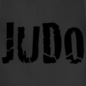 Black judo T-Shirts - Adjustable Apron