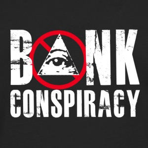 NWO Bank Conspiracy - Men's Premium Long Sleeve T-Shirt