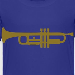 Royal blue Trumpet Kids' Shirts - Toddler Premium T-Shirt
