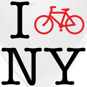 I Bike New York T-shirt - Bandana