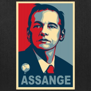 Assange Wikileaks T-Shirts - Tote Bag