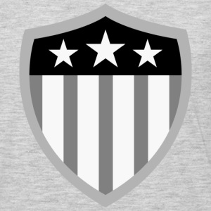 American Flag Shield - Men's Premium Long Sleeve T-Shirt