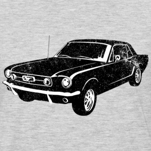 1965 Ford Mustang Coupe - Men's Premium Long Sleeve T-Shirt