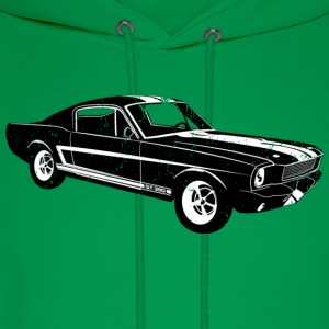 1965 Ford Mustang Shelby GT 350R - Men's Hoodie