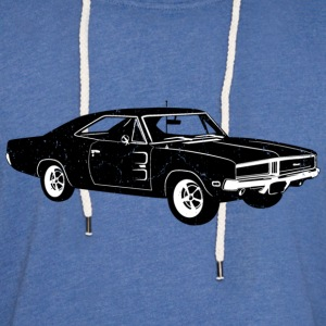 1969 Dodge Charger RT SE - Unisex Lightweight Terry Hoodie