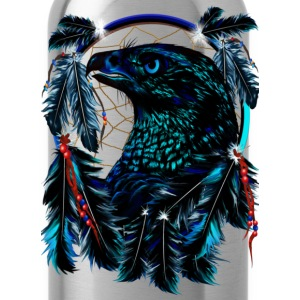 Black Eagle_Dreamcatcher - Water Bottle
