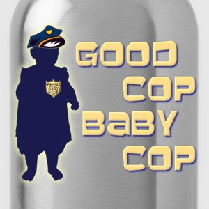 Good Cop Baby Cop T-Shirts - Water Bottle