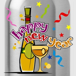 Happy New Year - Water Bottle