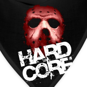 Black Hardcore Mask T-Shirts - Bandana