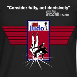 The Best Judo Shirt! - Men's Premium Long Sleeve T-Shirt
