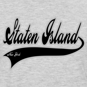 staten island new york T-Shirts - Men's Premium Long Sleeve T-Shirt